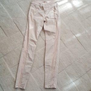 J Brand Kinsey Express Pink Skinny Pants Sz. 26